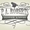 P.A. Roberts Custom Knives Logo